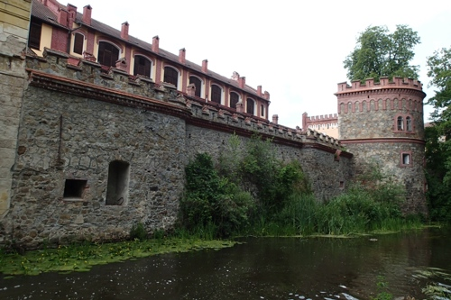 Burgmauern der hiesigen Brauerei