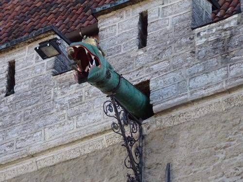 Detail am Rathaus
